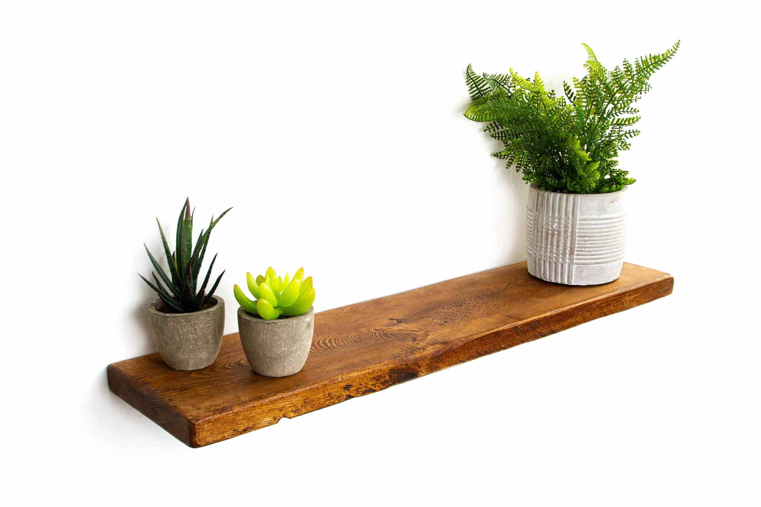 rustic floating shelves made from solid reclaimed wood 15cm deep 2 5cm thick bathroom shelf all our shelves e plete with fixings