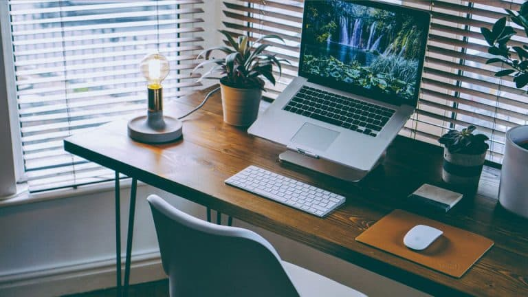 desk 768x432 - How to transform your home office space and declutter your mind​